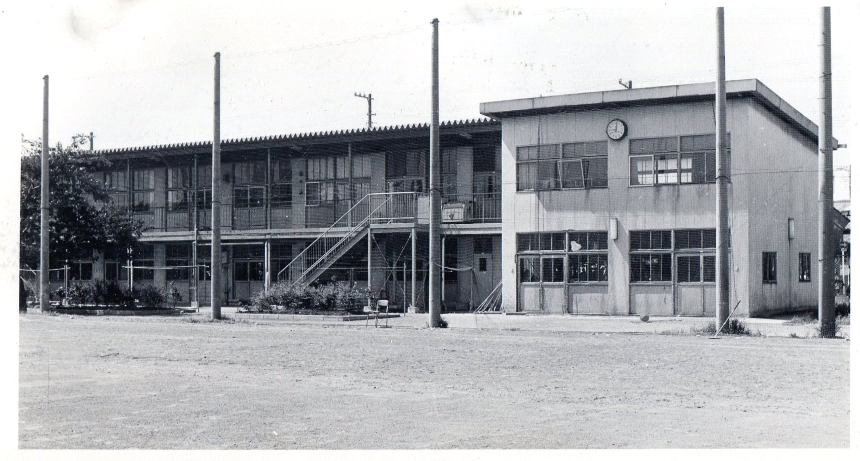 1969年(昭和44年)生徒会館・部室