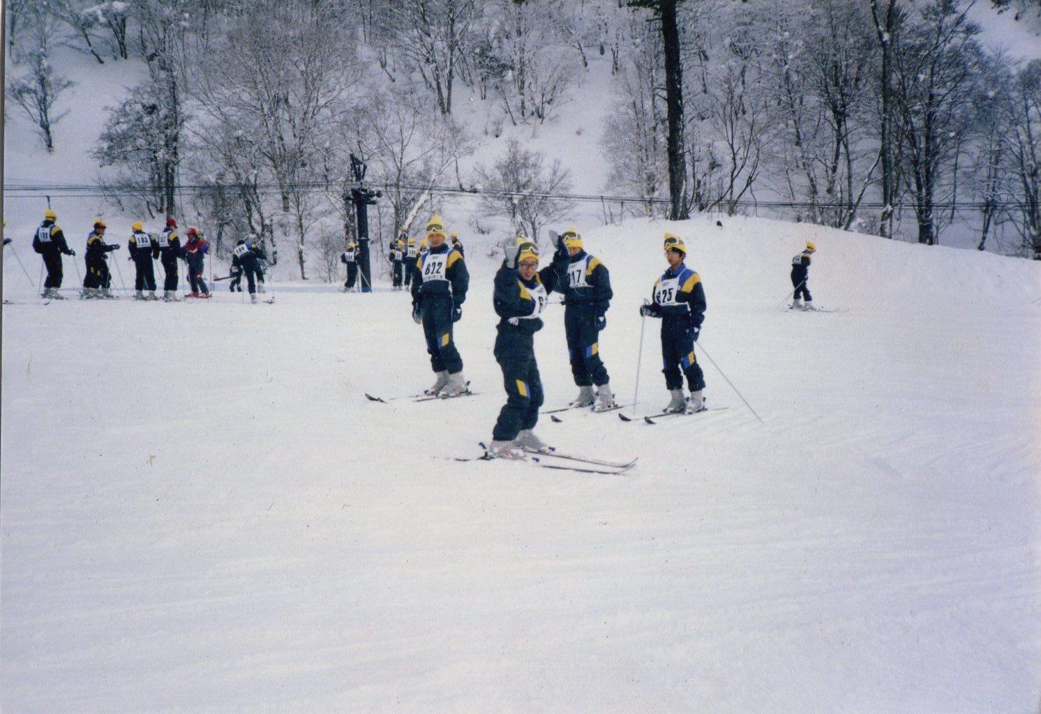 1984年(昭和59年)スキー修学旅行