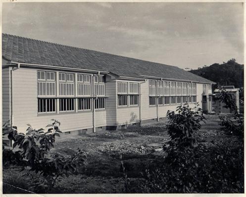 1955年(昭和30年)6月11日造船科実習棟完成