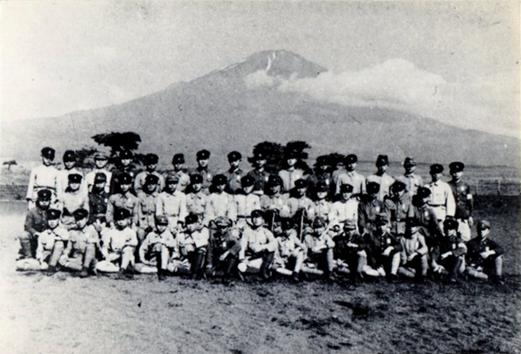 富士裾野での軍事訓練